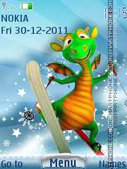 Dragon2012 theme screenshot