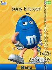 Скриншот темы M and Ms