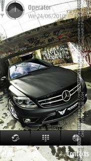 Скриншот темы Mercedes