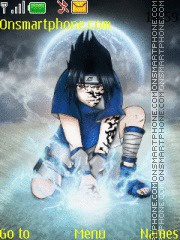 Sasuke uchiha Seal theme screenshot