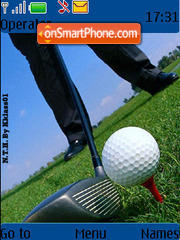 Golf 02 theme screenshot
