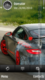 Porsche 911 theme screenshot