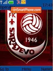 Fk Sarajevo theme screenshot