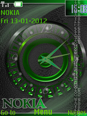 Clock (AR) tema screenshot
