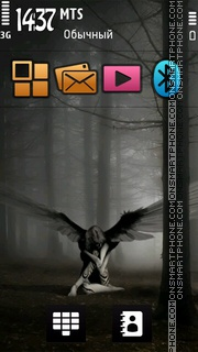 Capture d'écran Sorrow 04 thème