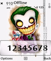 Joker theme screenshot