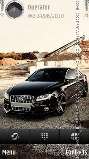 Audi s8 theme screenshot