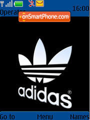 Adidas Old School theme screenshot