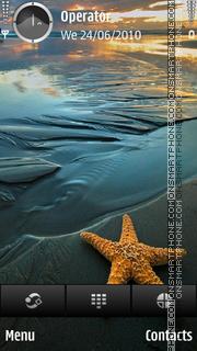Starfish theme screenshot