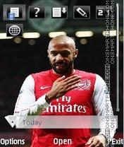 Скриншот темы Arsenal by vetal