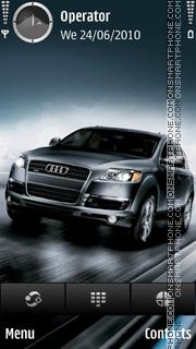 Audi q7 theme screenshot