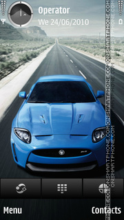 Jaguar theme screenshot