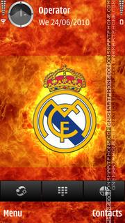 Real Madrid tema screenshot