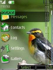 Bird CLK theme screenshot