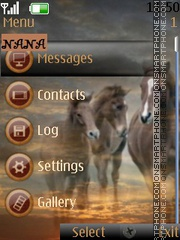 Brown Horse CLK theme screenshot
