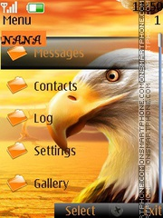 Eagle CLK theme screenshot