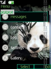 Panda CLK tema screenshot