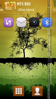 Tree Autumn 01 tema screenshot