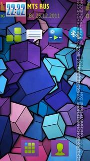 Abstract 30 theme screenshot