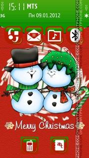 TMC Christmas Special tema screenshot