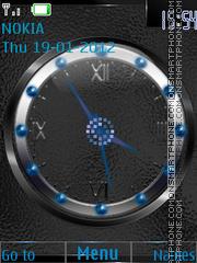 Dual Clock (AR) theme screenshot