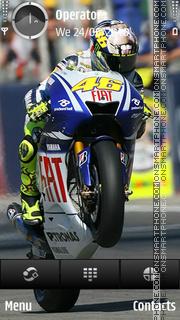Rossi theme screenshot