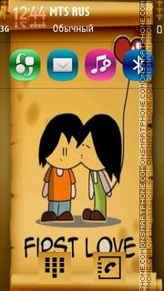 Kiss 25 theme screenshot