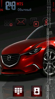 Red Mazda Theme-Screenshot