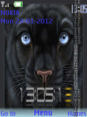 Panther tema screenshot