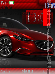Red Mazda theme screenshot