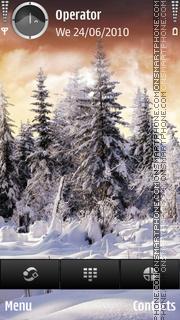 Winter tema screenshot