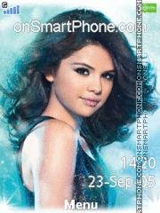 Selena Gomez 07 es el tema de pantalla