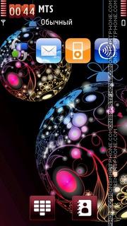 Xmas Ornaments tema screenshot
