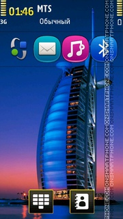 Dubai Hotels theme screenshot