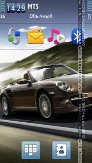 Скриншот темы Porsche 997 Turbo Cabriolet