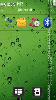 Waterdrops 01 theme screenshot