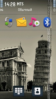 Pisa 01 Theme-Screenshot