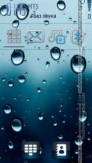 Water theme screenshot