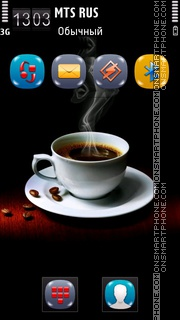 Turkish Coffee theme screenshot