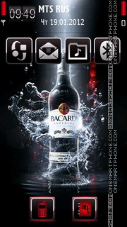 Bacardi 06 theme screenshot