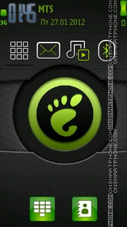 Green Theme theme screenshot