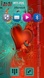 Abstract Heart 02 es el tema de pantalla