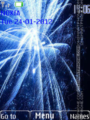 Fireworks tema screenshot