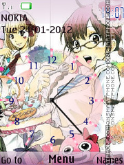 Yankee-kun to Megane-chan theme screenshot