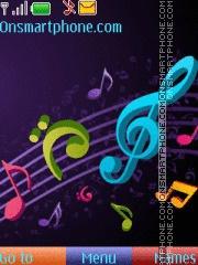 Musical Theme theme screenshot