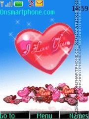 Valentine Love theme screenshot