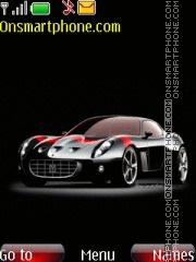 Ferrari 599 GTO theme screenshot