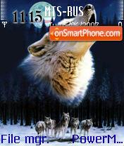 The Lonely Wolf es el tema de pantalla