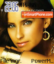 Nelly Furtado 01 theme screenshot