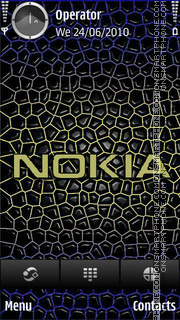 Nokia blak mamba theme screenshot